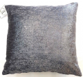 "GLITTERY SILVER SPECKLES STEEL GREY VELVET GLAMOUR 18"" CUSHION COVER £7.99 EACH"